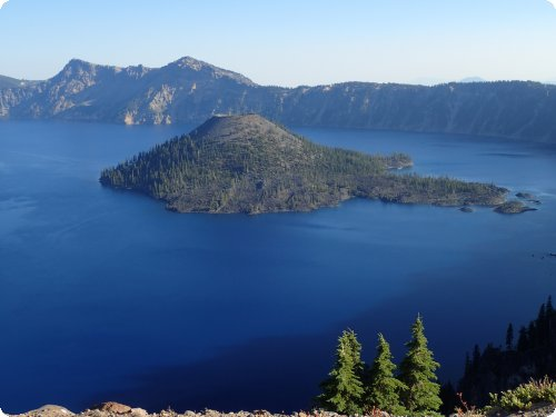 Mindblowing: Der Crater Lake.