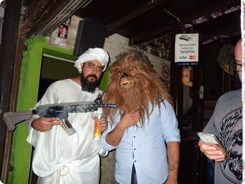 Welcome to The End Of The Universe: Osama and Chewbacca